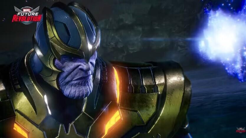 """Marvel Future Revolution: digno de las palabras """"excesivo"""""""